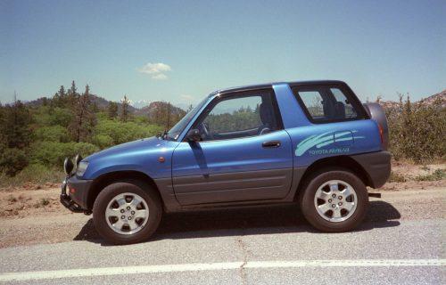 4x4 Toyota Rav4 3 Door